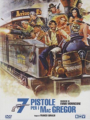 Seven Guns for the MacGregors ( Sette pistole per i MacGregor ) ( Siete pistolas para los Mac Gregor ) [ NON-USA FORMAT, PAL, Reg.0 Import - Italy ] -  DVD, Franco Giraldi, Manuel Zarzo