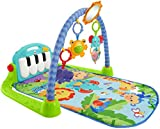 Cheap Fisher-Price Kick 'n Play Piano Gym, Blue/Green