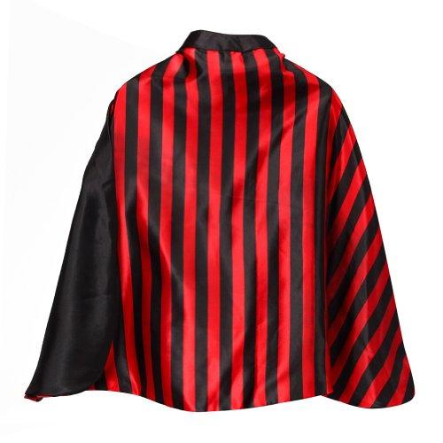 Making Believe Reversible Red & Black Stripe 24