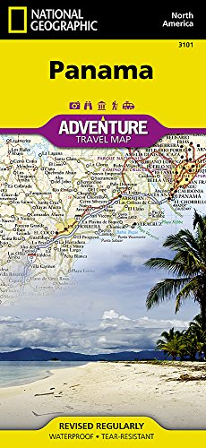 Panama (National Geographic Adventure Map)