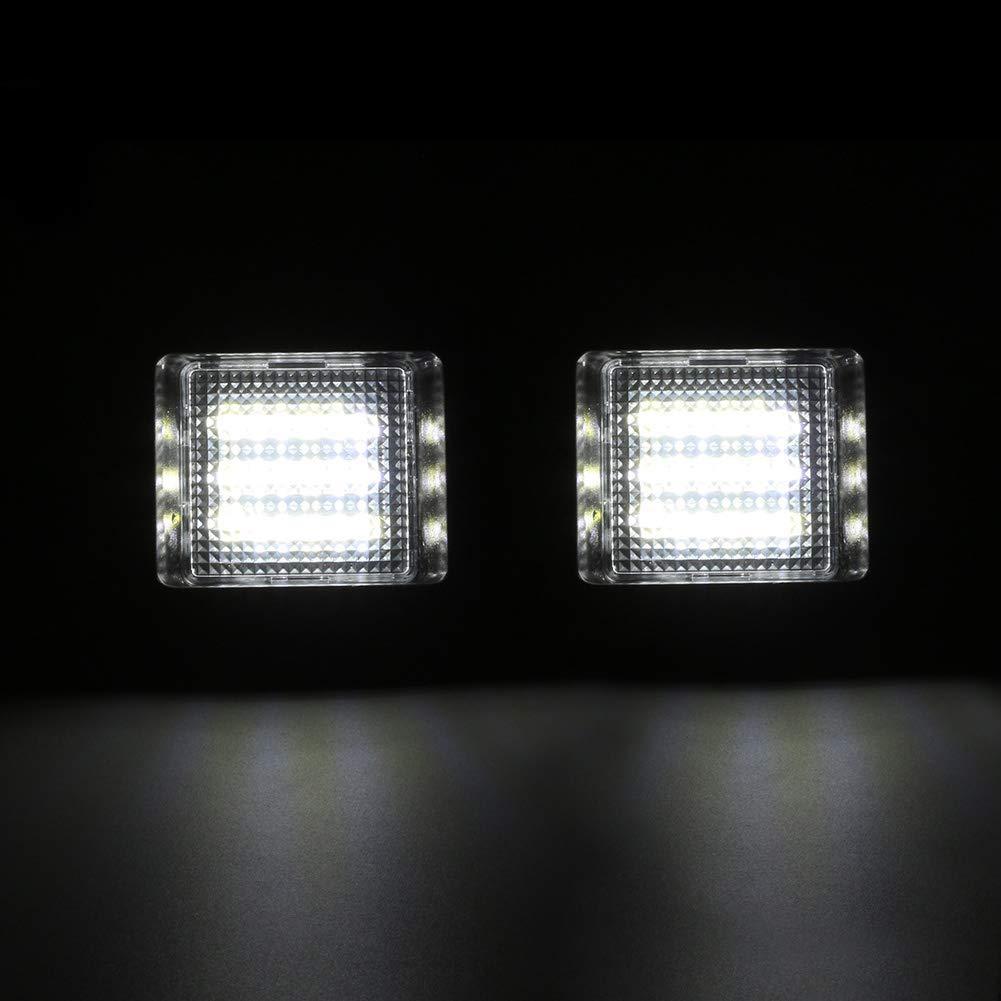 sans Erreur MK2 2003-2008 2Pi/èces lumi/ère de la Plaque dImmatriculation /à LED tr/ès Brillante pour Remplacement Feux Arri/ère pour F-ord Focus C-MAX 2003-2010