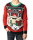 Product review for Ugly Christmas Sweater Teen Boy's One Night Only LED Light Up Sweater