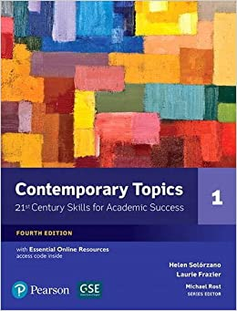 Book NEW EDITION: Contemporary Topics 1 with Essential Online Resources (4th Edition) by Helen S Solorzano (2016-08-25)