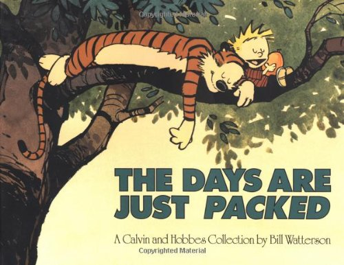 The Days are Just Packed: A Calvin and Hobbes - Storage Calvin