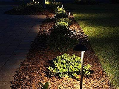 Makergroup T5 T10 Wedge Base LED Light Bulbs Glass Dome 12VAC/DC 2Watt Warm White for Outdoor Landscape Lighting Deck Stair Step Path Lights