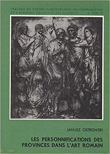 Les Personnifications Des Provinces Dans L'art Romain pdf, epub