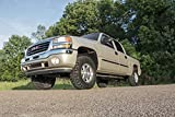 "Rough Country 2"" Leveling Kit compatible w/ 2001-2010 Chevy Silverado GMC Sierra 1500HD 2500HD Suspension System"