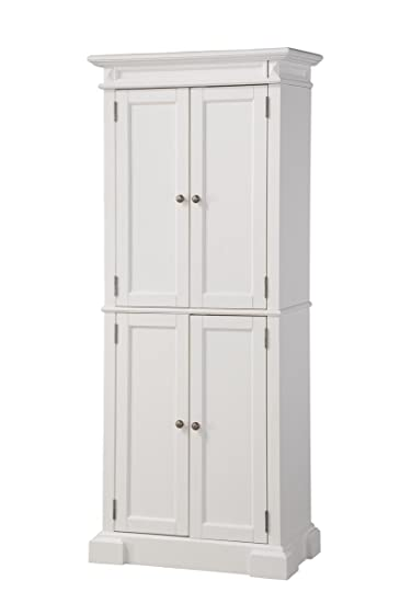Ordinaire Amazon.com: Home Styles 5004 692 Americana Pantry Storage Cabinet, White  Finish: Kitchen U0026 Dining