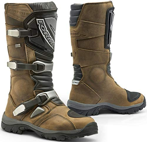 Forma Adventure Hdry Motorcycle Boots Universal 42 Brown Auto
