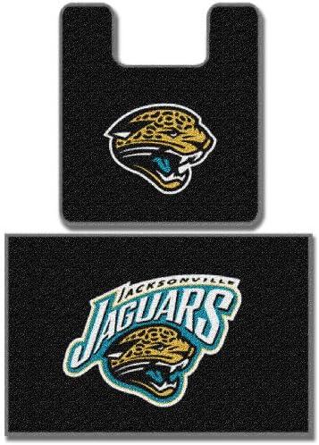 [해외]Jacksonville Jaguars Two Piece Bath Rug Set / Jacksonville Jaguars Two Piece Bath Rug Set