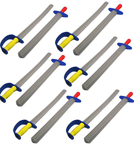 Swords for Kids - Foam Swords , 12 Pack, 25