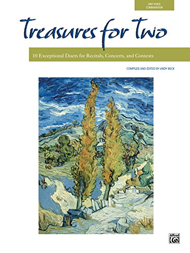 Vocal Series - Treasures for Two: 10 Exceptional Vocal Duets for Recitals, Concerts, and Contests (For Two Series)