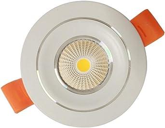 Sprsk 1-Pack Iluminación empotrada LED ultradelgada Iluminación for el hogar empotrada Salida de lumen real Alto brillo Alto rendimiento Oculto Cuarto de baño Cocina Sala de estar Luz de techo Centro: Amazon.es: