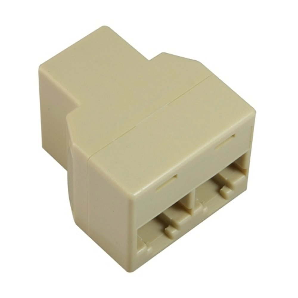 Insten Rj45 Cat 5 6 Lan Ethernet Splitter Connector Jack Wiring Related Keywords Suggestions Rj11 Phone Adapter Pc Home Audio Theater