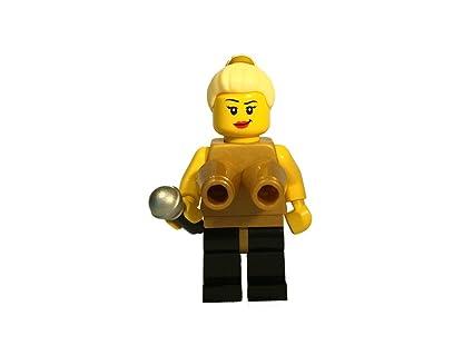 Amazon.com: Material Girl with Cone Bra Custom Lego Minifigure with ...