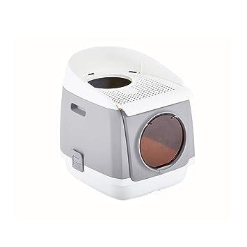 SELCNG Ultra Caja de Arena autolimpiable, con Capucha, Bandeja de Basura para Gatos, higiénica, sin Olor: Amazon.es: Productos para mascotas
