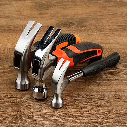 Minihammer-Gummihammerwerkzeug Peanutaod Rundkopf-Kunststoffgriff Magnetischer Klauenhammer F/ür Holzbearbeitung und Elektrowerkzeug
