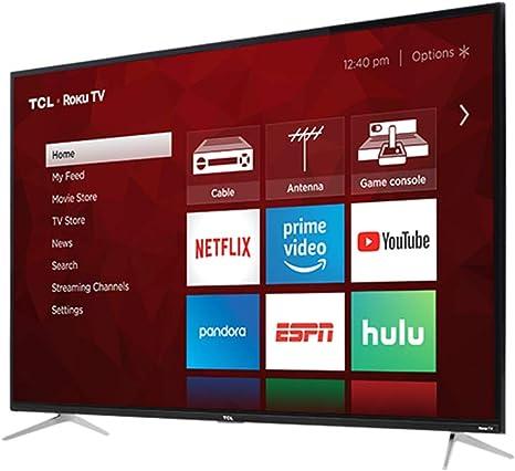 TCL 50S423 - Televisor LED 4K UHD HDR Roku Smart de 50