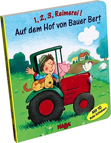 HABA 5392 - 1, 2, 3, Reimerei! Auf dem Hof von Bauer Bert