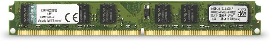PARTS-QUICK Brand 2GB Memory for Intel DG45FC Motherboard DDR2 PC2-6400 800MHz DIMM Non-ECC RAM Upgrade