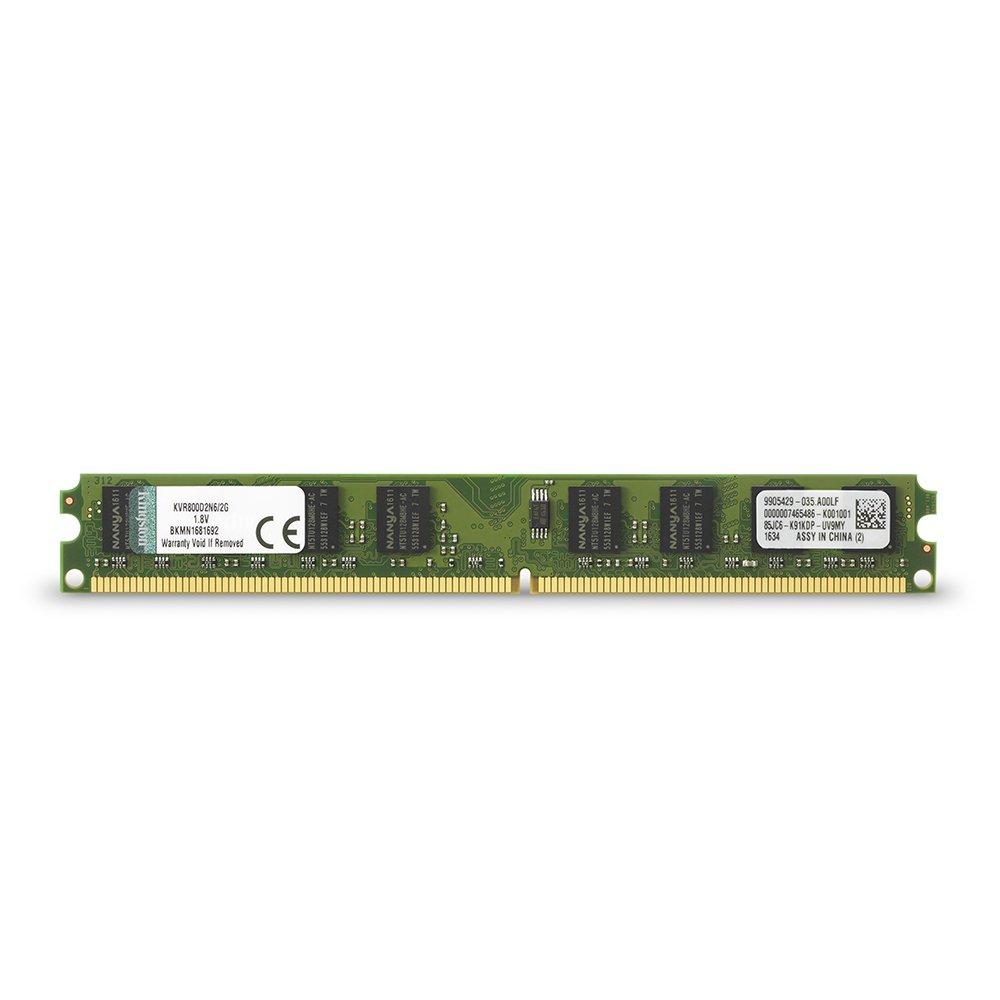 Memoria RAM 2GB Kingston ValueRAM 800MHz DDR2 Non-ECC CL6 DIMM