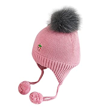 2eb8c3fae7a Image Unavailable. Image not available for. Color  Fheaven Newborn Baby  Girls Winter Hat ...