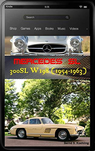 - Mercedes-Benz, The SL story, 300SL W198 with chassis number, data card explanation and a unique roadster