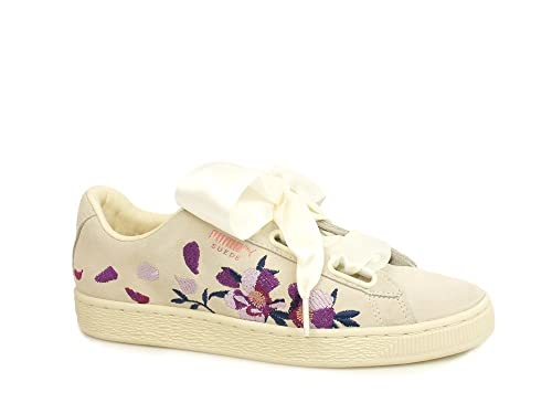 Buy Puma Women's Suede Heart Flowery Wn S Whisper White r