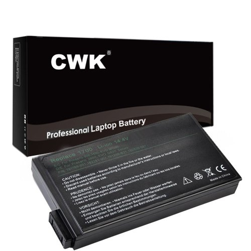 CWK® New Replacement Laptop Notebook Battery for HP Compaq Presario 900 1500 1700 2800 1720US 17XL 900US HP Compaq NW8000 NC6000 NC8000 NC8200 NW8000 NX5000 Evo N800 N160 N800C N800V N800W 337657-001 291369-B25 HP Compaq EVO N100 N1000C N1000V N800C N800V N800W N800 N160 HP nc6000 347189-001 338669-001 338669-001 291369-B25