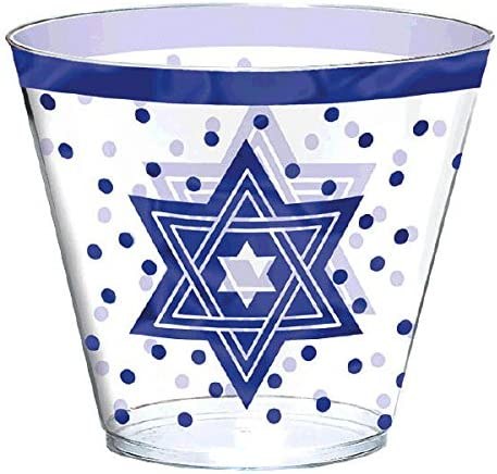 Napkins and a Passover Seder Plate Passover Tableware Kit/ for 10 includes Dinner Plates,/ 9 oz Tumblers