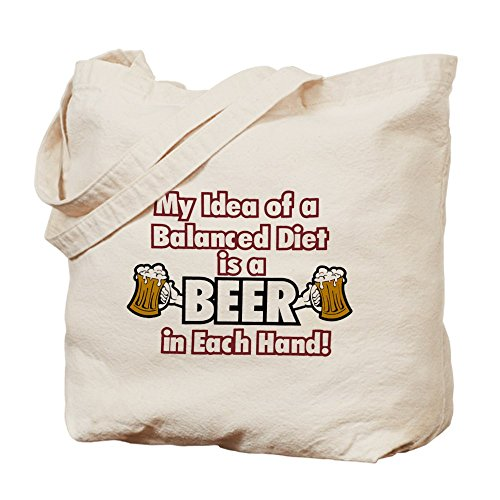 royal-lion-tote-bag-my-idea-balanced-diet-beer-each-hand