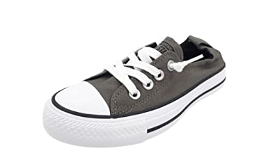 3c6fa2c12cd0 Image Unavailable. Image not available for. Color  Converse Chuck Taylor  All Star Shoreline Charcoal   Black Lace-Up ...