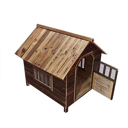 YANQ Al Aire Libre Perro pequeño Jaula Perrera Casa de Perro Mascota Nido Casa de Perro