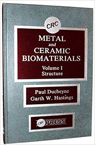 Read online Metal and Ceramic Biomaterials, Volume 1: Structure (CRC series in structure-property relationship of biomaterials) PDF, azw (Kindle)