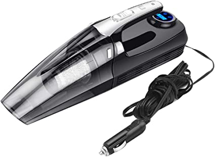 SJMLCF Aspirador del coche, poder más elevado del PDA del doble ...