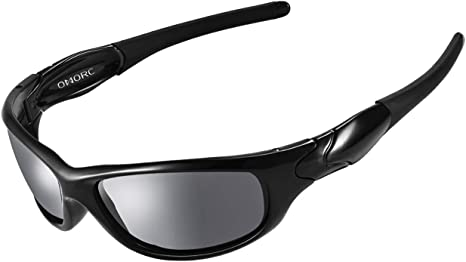Occhiali da Sole sportivi uomo sport per ciclismo e polarizzati avvolgenti pesca