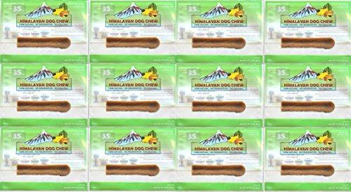 FRESH HIMALAYAN DOG CHEW MEDIUM UNDER 35 POUNDS HEALTHY NATURAL LONG LASTING TREAT (12 Pack)