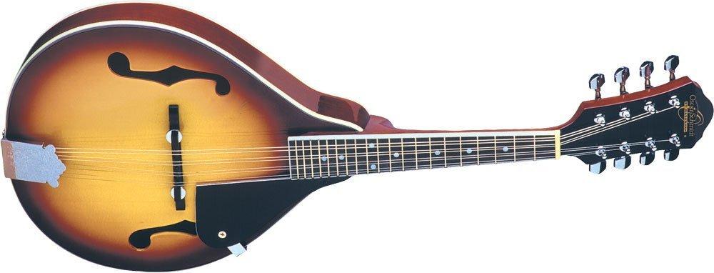 Oscar Schmidt OM10 A-Style Spruce Top Mandolin - Tobacco Sunburst