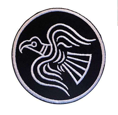 Norse Mythology Odins Raven Black/White 3