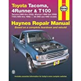 img - for Toyota Tacoma, 4 Runner & T100 Automotive Repair Manual. Models covered: 2WD and 4WD Toyota Tacoma (1995 thru 2000), 4 Runner (1996 thru 2000) and T100 (1993 thru 1998) book / textbook / text book