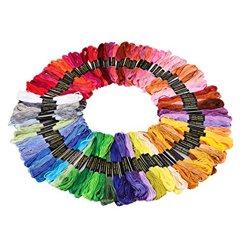 Tinksky Skeins Multi color Embroidery Threads