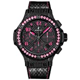 Hublot Big Bang Black Fluo Pink Sapphires Limited Edition Automatic Chronograph - 341.SV.9090.PR.0933