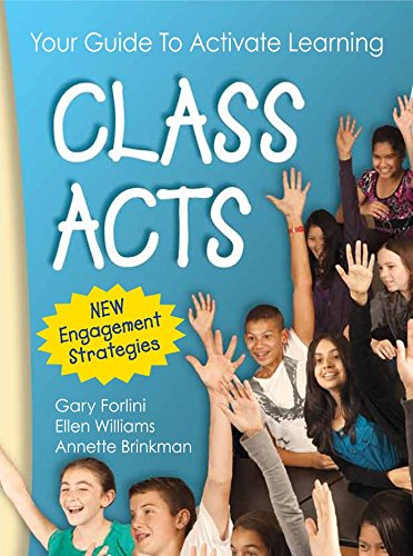Read Online Class Acts: Every Teacher's Guide To Activate Learning pdf