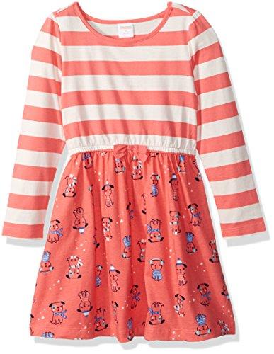 gymboree-toddler-girls-pink-mixed-print-knit-dress-sunkist-coral-3t