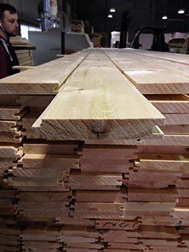 Pine Timber T/&G Floorboard 110 X 20mm 5 x 2.1MTR Lengths