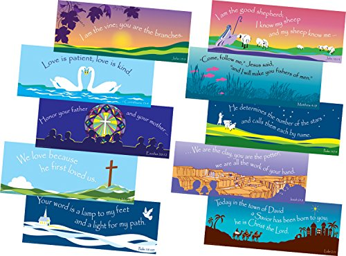 (Barker Creek Scripture Chart Set, 22