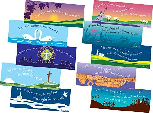 - Barker Creek Scripture Chart Set, 22