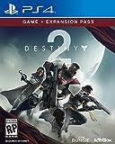Video Games : Destiny 2 - Game + Expansion Pass Bundle - PS4 [Digital Code]