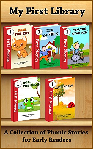 My First Library - A Collection of Phonics Stories for Early Readers: Sight Words and CVC Words (First Phonics Book 6) - Sight Words Library
