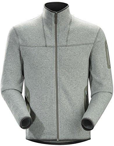 Arc'teryx Covert Cardigan - Men's Argent (Heathered Wool Jacket)